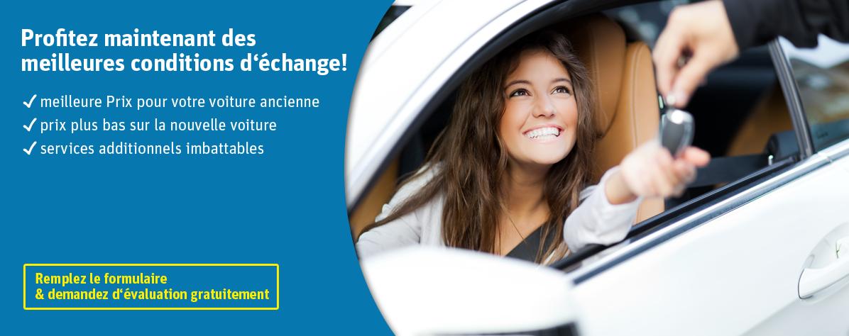 Campagne d 39 change avec le test de garage gratuit auto for Garage echange de voiture